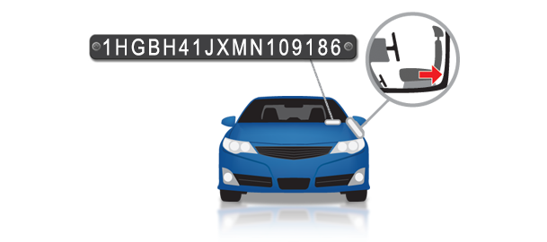Where To Find Vin Number >> What Is A Vin Vehicle Identification Number Autocheck